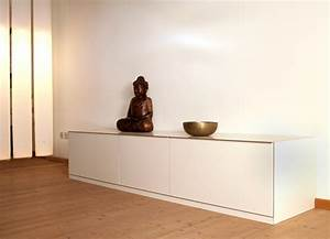 Sideboard Cremefarben Affordable Sideboard Carmen With