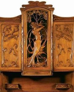 Art Nouveau Mobilier : 135 best art nouveau mobilier images on pinterest art ~ Melissatoandfro.com Idées de Décoration