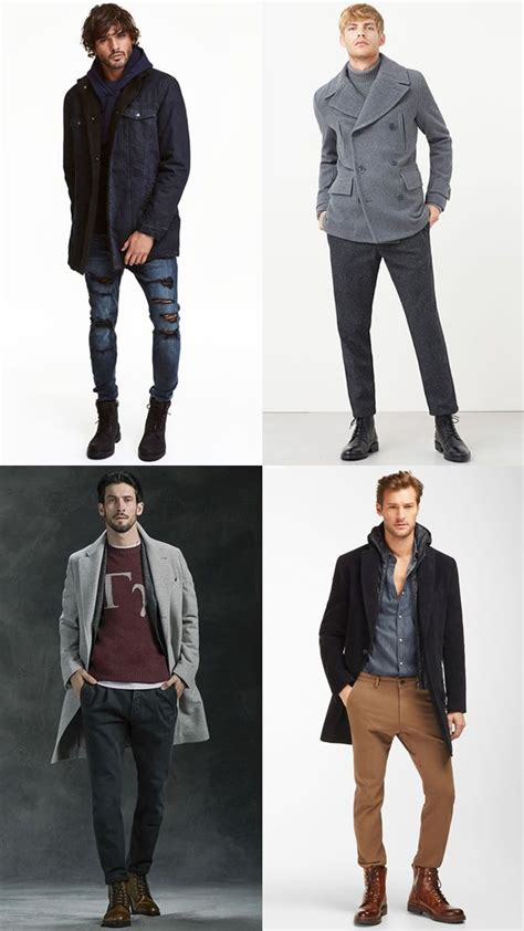 Men Military Work Boots Outfit Inspiration Lookbook