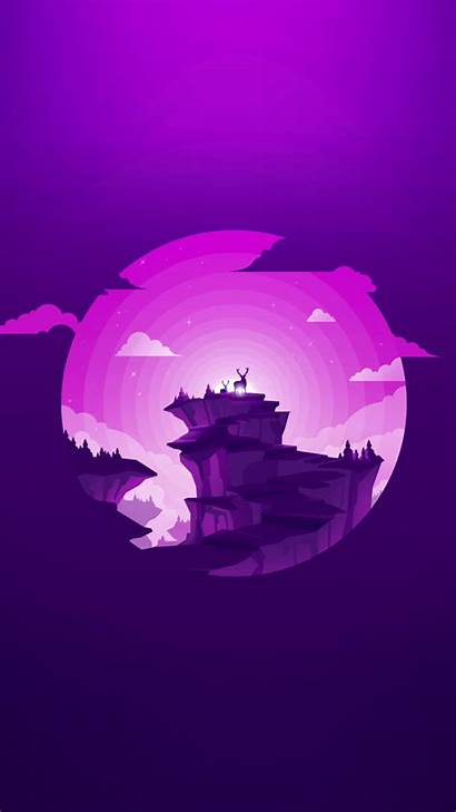 Purple Material Illustration Circle Sphere Shape Computer