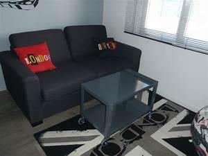 une chambre d39ado chez lilypouce With tapis de gym avec canapé convertible pour chambre ado