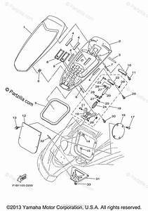 Yamaha Waverunner 2003 Oem Parts Diagram For Engine Hatch 2