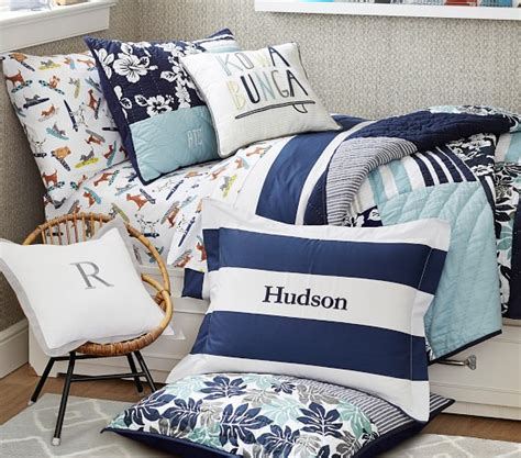 Pottery Barn Surf Bedding by Surf Quilt Pottery Barn