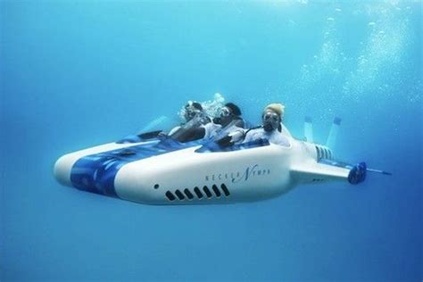 the necker nymph is a powerful underwater aircraft created by a famous engineer graham hawkes