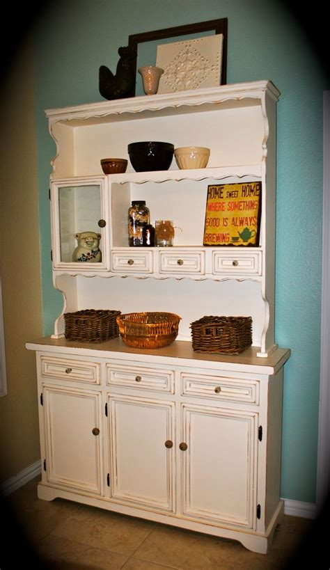 French Country Kitchen Hutch Images  Home Design And