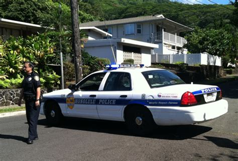 Police Continue Search For Car Theft Suspect In Manoa Valley