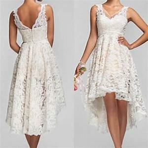 2015 plus size high low wedding dresses vintage lace v With high low vintage wedding dresses