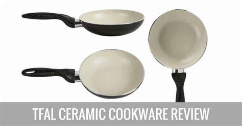 tfal ceramic cookware review compare  farberware