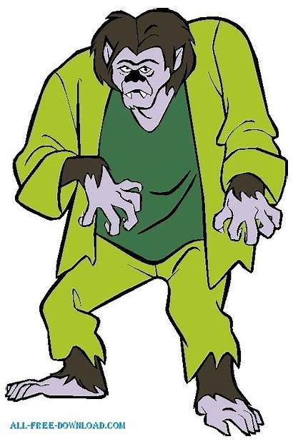 Scooby Doo Villan Vector Clipart Halloween Clip