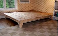 how to make a platform bed frame How To Build A Platform Bed Frame