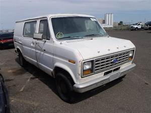 E14ebga1500  Bidding Ended On 1980 White Ford Econoline