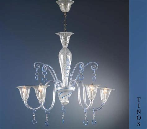 murano glass tinos chandelier modern chandeliers