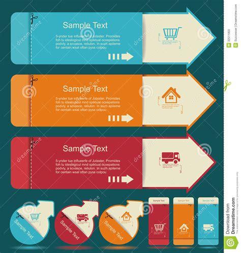 vintage labels template set sale discount theme retro