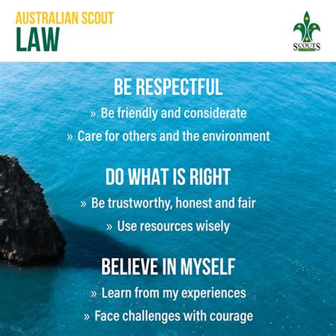 australian promise  law scouts queensland