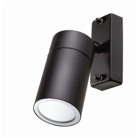 brilliant 35w black coolum adjustable exterior wall light