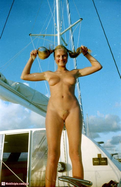 Nude Blonde Sailing Babe Picture Of The Day Nickscipio Com