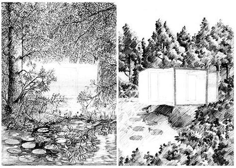 draw study tips  drawing backgrounds
