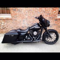 Blacked Out Harley Street Glide