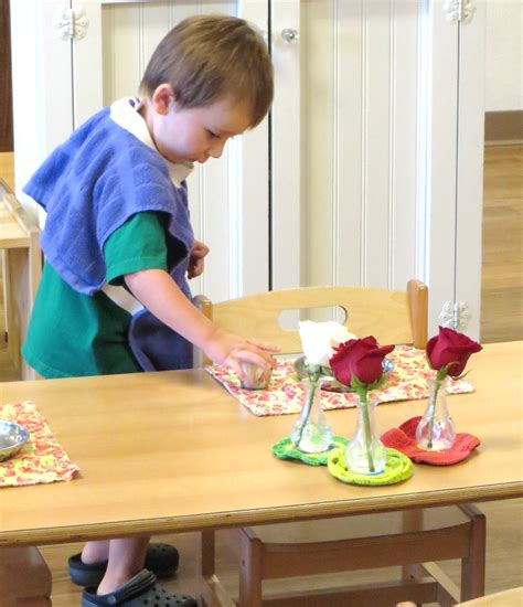 preschool setting setting the table an exercise in practical healthy 573