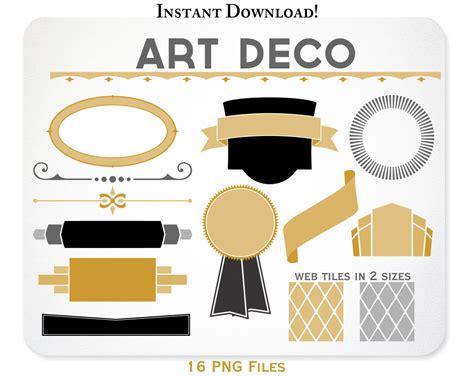 deco graphic designers deco clipart design elements web tiles by kellyjsorenson