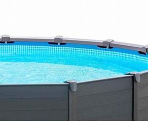 Piscine Hors Sol Resine : piscine r sine graphite grise anthracite ~ Melissatoandfro.com Idées de Décoration