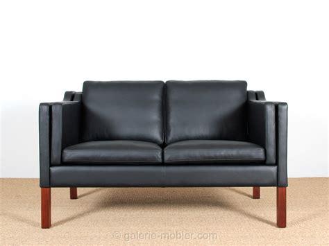 canapé danois canapé danois 2 places en cuir galerie møbler