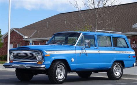 jeep cherokee chief blue jeep wagoneer interior autos post