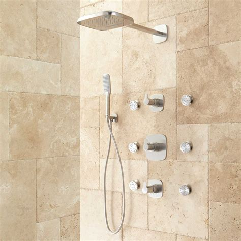 Arin Thermostatic Shower System With Hand Shower & 6 Body. Rustic Lamps. Marge Carson Sofa. Black And White Bedroom. Italian Furniture Nyc. French Country Chandeliers. Tov Furniture Reviews. Laminate Kitchen Cabinets. White Bedroom Ideas