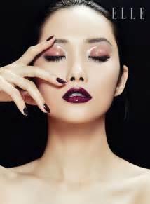 kwak ji young poses  zhang jingna  elle vietnam beauty feature