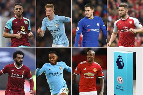 November's EA SPORTS Player of the Month shortlist revealed