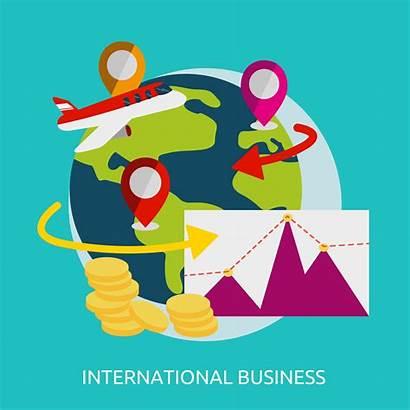 International Business Vector Illustration Marketing Icon Strategy