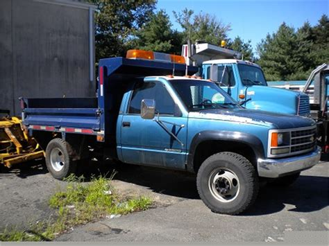 1990 Chevy 1 Ton Dump Truck Online Government Auctions Of