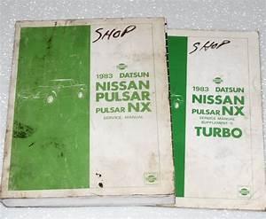 1988 Nissan Pulsar Nx Service Shop Repair Set Service And The Wiring Diagrams