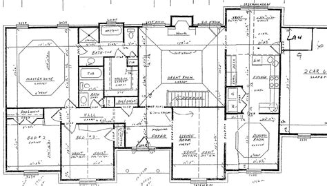 5 Bedroom House Floor Plans House Floor Plans With