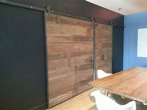 barn wood sliding doors in steel frame contemporary With barn door metal frame