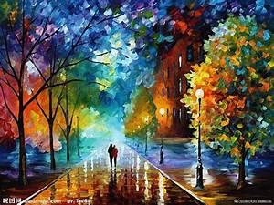 风景油画设计图 绘画书法 文化艺术 设计图库 昵图网nipic com