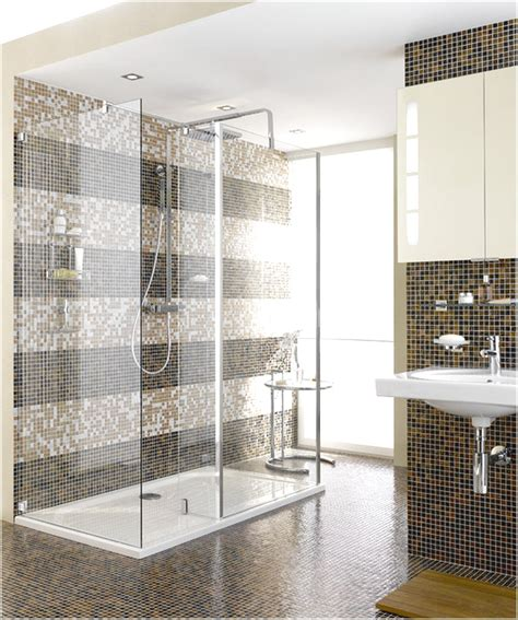 Modernes Bad Mit Dusche by Difference Bathroom Shower Tile Modern And Classic