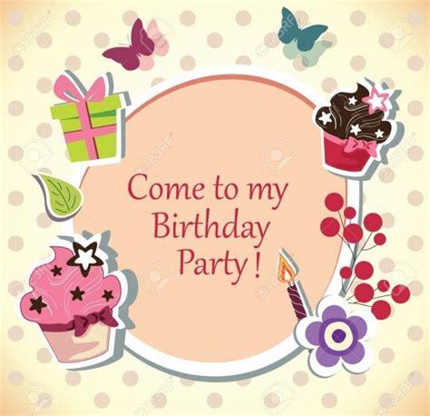 Geburtstag Karte Einladung