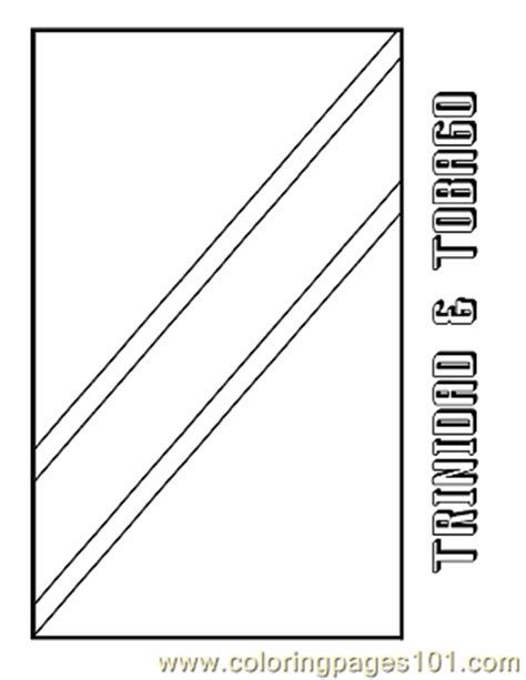 trinidad  tobago coloring page  flags coloring pages coloringpagescom