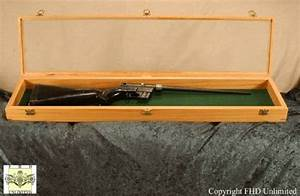 """Rifle Display Case - 10"""" x 42"""", Rifle and Musket Displays"""