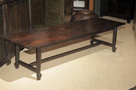 pine wood bench   philippines  stdibs