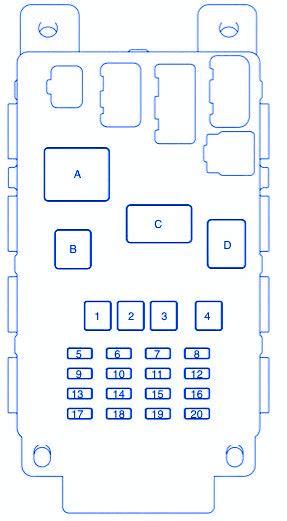 scion xb 2013 fuse box block circuit breaker diagram 187 carfusebox