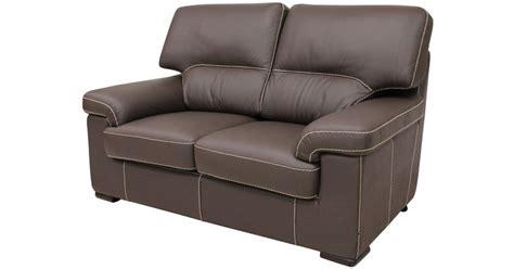 Patrick Contemporary 2 Seater Sofa Chocolate Brown Italian
