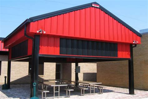 Building A Metal Carport by Metal Carports Covered Parking Roof Only Buildings