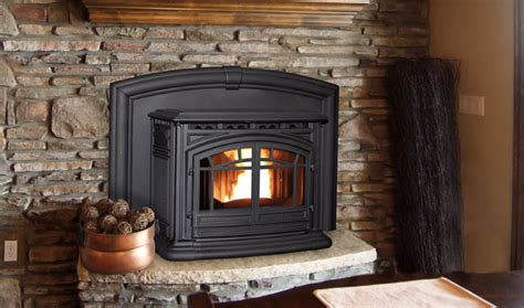 Wood Fireplace Insert Vs. Pellet Fireplace Insert Living Room Carpet Belfast Small With Two Entrances Bedroom In The Furniture Sale Phoenix Images For Rooms London Music Red Coffee Table Decorate Recliner