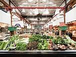 Granville Island Public Market in Vancouver, Canada ...