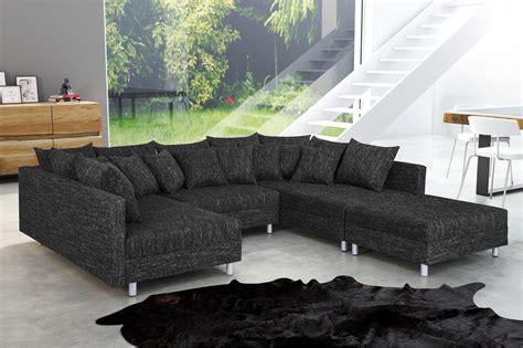 Wohnlandschaft Sofa Couch Ecksofa Eckcouch In Real