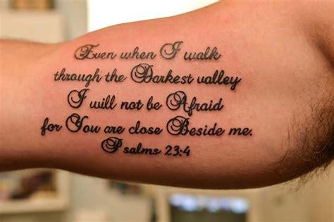 Psalm 23 Tattoo Mungfali
