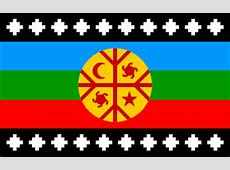 Mapuche people Chile and Argentina Fahnen Flaggen