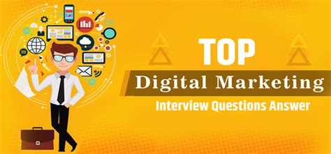 general digital marketing interview questions  answers